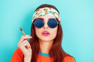 Hippie-smoking
