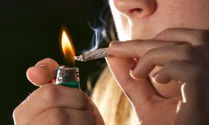 курение косяка