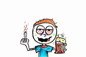 Мозг под веществами: алкоголь + марихуана